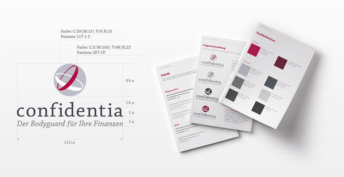 confidentia Inkasso, Corporate Identity
