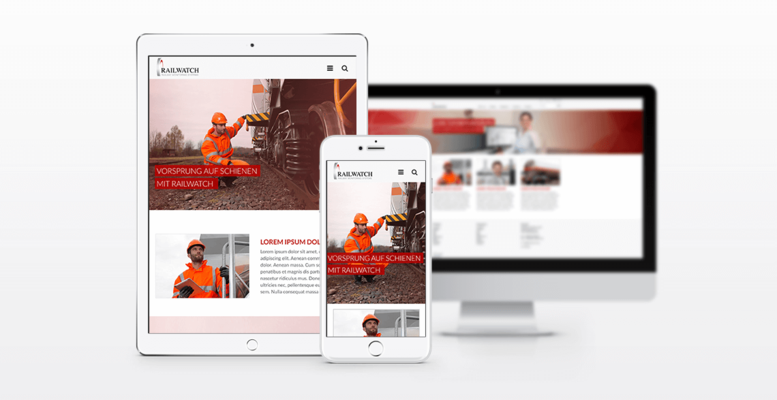 Responsive Webdesign Railwatch
