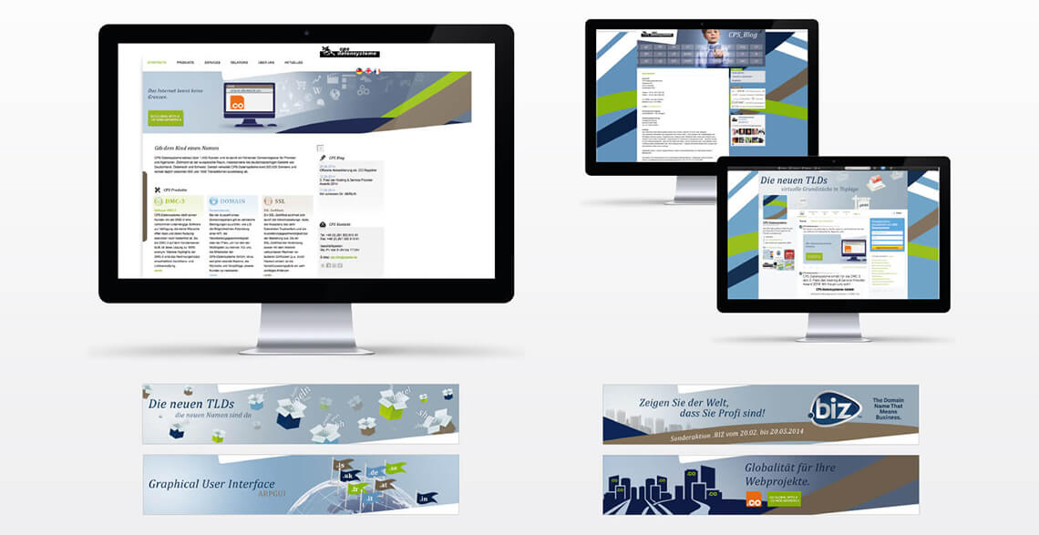 Corporate Design Koblenz Webdesign CPS Datensysteme