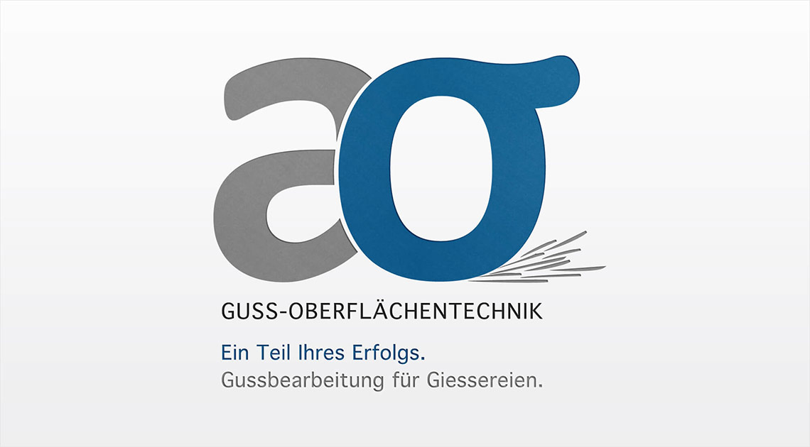 ao Guss-Oberflächentechnik Corporate Design