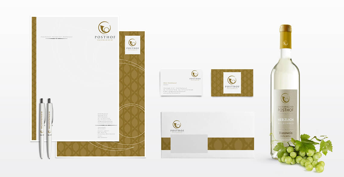 Posthof Bacharach Corporate Design